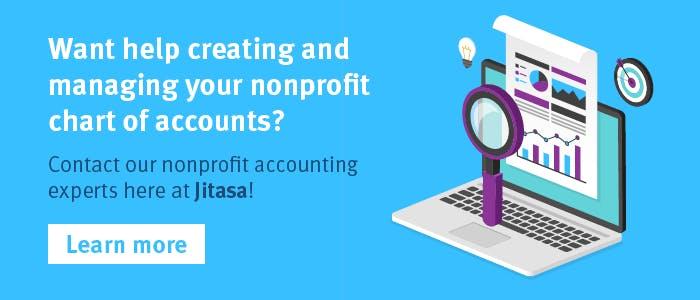 Want help creating and managing your nonprofit chart of accounts? Contact Jitasa!