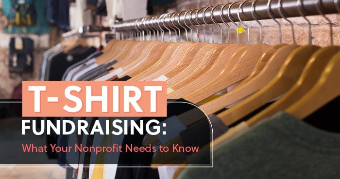 T-Shirt Fundraising for Nonprofits Featured